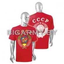 Футболка СССР красная