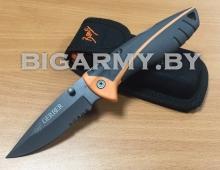 Нож Gerber складной с серейтером