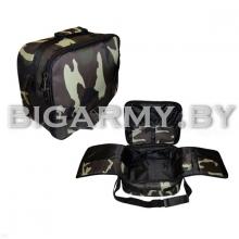 Сумка наплечная тревожный чемоданчик кмф зеленая