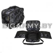 Сумка наплечная тревожный чемоданчик кмф серая