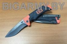 Нож Gerber Bear Grylls Scout с серейтором складной
