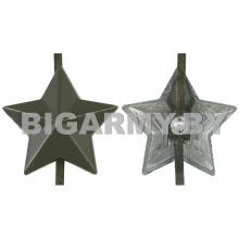 Звезда 13мм метал. защитная гладкая РБ
