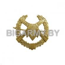 Эмблема петлица ПВ металлическая с венком