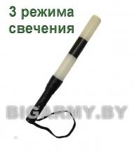 Жезл ДПС 35 см стробоскоп светодиодный с металлической ручкой