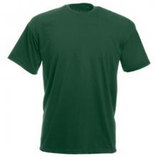 Футболка темно-зеленая