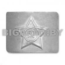 Бляха на ремень СССР Серебряная