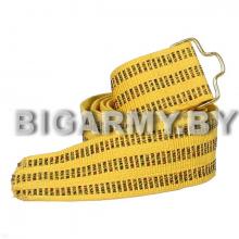 Полотно от парадного офицерского желтого шелкового ремня
