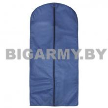 Чехол для одежды 60x135 см синий спанбонд