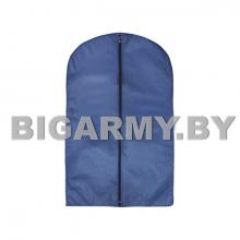 Чехол для одежды 60x100 см синий спанбонд