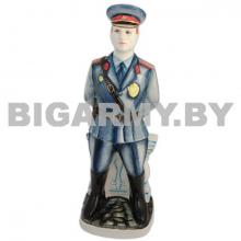 Штоф керамический Полицейский цветной