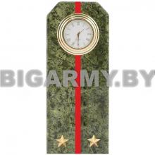 Часы сувенирные настольные  Погон Лейтенант ВС