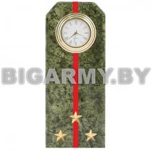 Часы сувенирные настольные Погон Старший лейтенант ВС