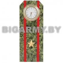 Часы сувенирные настольные Погон Майор ВС