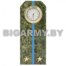 Часы сувенирные настольные Погон Лейтенант ВДВ