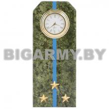 Часы сувенирные настольные Погон Старший лейтенант ВДВ