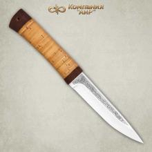 Нож Пескарь (береста)