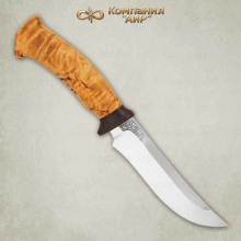 Нож Росомаха (карельская береза)