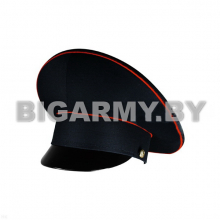 Фуражка с высокой тульей Полиция темно-синяя с красным кантом