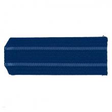 Погоны синие 2 голубых просвета на пластике