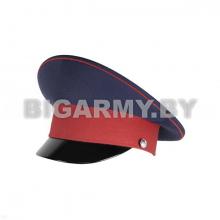 Фуражка с высокой тульей Донского казачества синяя с красным кантом