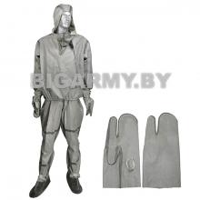 Костюм химзащиты Л-1 куртка, брюки, рукавицы в сумке