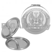 Зеркало карманное с лазерной гравировкой Автомобильные войска (Всегда готовы для броска)