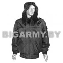 Куртка зим. Оперативка (мод. S) черная (ткань п/а)