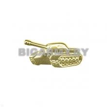 Эмблема Танковые войска нов/обр пластиковая золотая левая